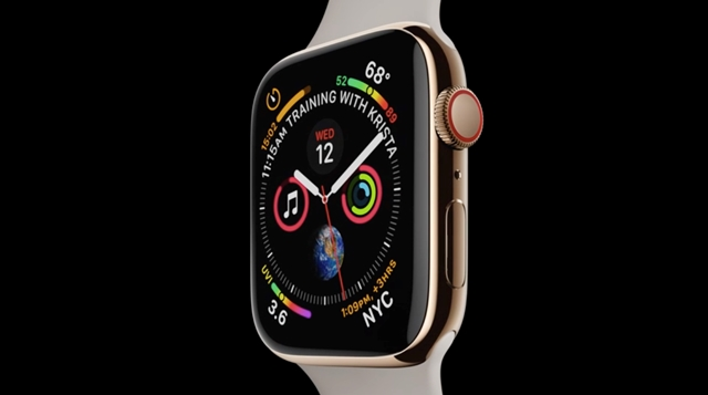 Apple Watch szívmonitor